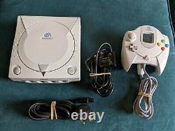 Sega Console Dreamcast Entièrement Travailler Bon État D'occasion Pal