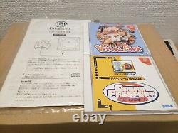 Sega Dreamcast Console System Japon Complete Good Condition