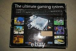Sega Dreamcast Console Système Blanc Complet Dans La Boîte #24 Bonne Forme