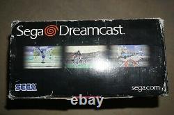 Sega Dreamcast Lancement Console Système Blanc Complet Dans La Boîte #25 Bonne Forme