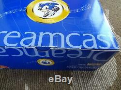 Sega Dreamcast Rêve Lancé Karaoke Segakara Console Boxed Bon État