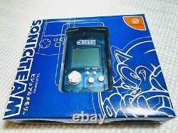 Sega Dreamcast Visuel Memorysonic Teamvery Bon État Box Testé Japon