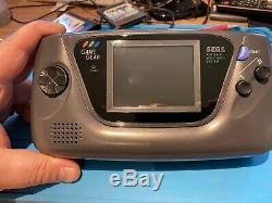Sega Game Vitesse -lcd Écran Nouveau Capacitors Nouveau Verre Écran Bon État