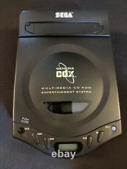 Sega Genesis CDX Seul Système Laser Est Porté Bon État Sur Tout
