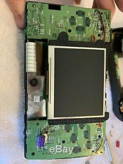 Sega Genesis Nomad Système Écran LCD Upgrade Lentille En Verre Bon État
