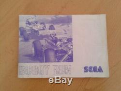 Sega Master System Buggy Run Complet En Boîte Cib Très Bon Etat Rare +++