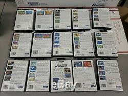 Sega Master System Lot De 27 Jeux Et Cartes Sega En Bon État