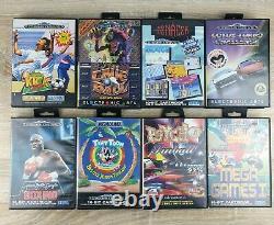 Sega Mega-cd 2 Et Sega Mega Drive II Bundle Avec 35 Jeux Bon État