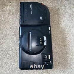 Sega Mega-cd 2 II Avec Sega Mega Drive Mk1 Unités En Bon État Seulement Lire