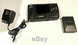 Sega Nomad Système De Jeu Vidéo Testée Travail Bon État Withbatt Pack