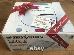 Sega Saturn Console Système Hst-0014 Complete Set / Très Bon État / Testé
