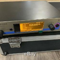 Sennheiser Ew500 G3 Micro Sans Fil Système Avec Étui / Occaion / Bon État