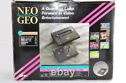 Snk Neo Geo Aes Console System Boxed Très Bon État Testé Vendeur Japonais
