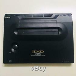 Snk Neo Geo Aes System Console Japon Bon Etat Lire Desc
