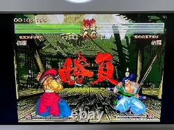Snk Neo Geo Cdz Console Complete Avec Box Serial Matching Très Bon État