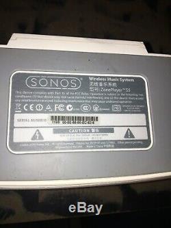 Sonos Zoneplayer S5 Sans Fil Hi-fi Music System Dans Un Bon État De Fonctionnement