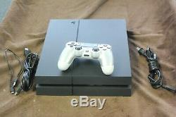 Sony Cuh1215a Playstation 4 Console 500 GB Utilise Teste Bonne Forme Ps4 (j)