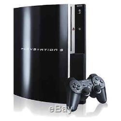Sony Playstation 3 80go Piano Noir Console Bon État
