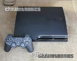 Sony Playstation 3 Slim 120go Système Firmware Ps3 3.55 Ofw Bon État