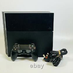 Sony Playstation 4 500 Go Jet Black Console Bon État