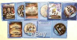 Sony Playstation 4 500go Console Bundle Avec Le Contrôleur Et 5 Jeux Bon État