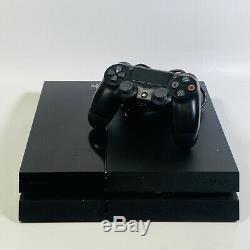 Sony Playstation 4 500go Jet Console Black Bonne Condition