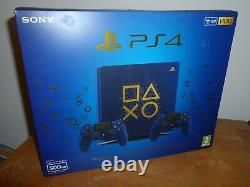Sony Playstation 4 Days Of Play Console 500go Bonne Condition Libre P & P