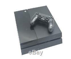 Sony Playstation 4 Ps4 Console Bundle 500gb Black Bonne Condition De Travail