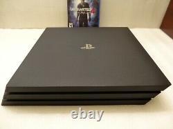 Sony Playstation 4 Ps4 Pro 1tb Console Noir Très Bon État