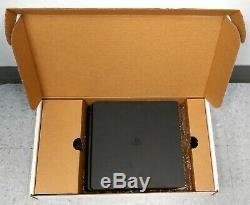 Sony Playstation 4 Slim 1tb Jet Console Noir En Boîte Bonne Forme