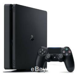 Sony Playstation 4 Slim 1tb Jet Noir Console Bon État