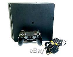 Sony Playstation 4 Slim Console 500go Noir Mat Bon Etat