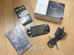 Sony Playstation Portable Psp-3000 Piano Black Psp Japon Très Bon État