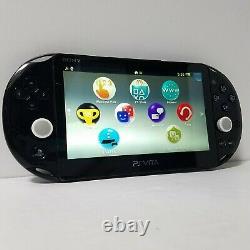 Sony Playstation Ps Vita Console Pch-2000 Black Testé Bon État