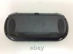 Sony Playstation Ps Vita Modèle Wi-fi Noir Pch-1000 Za01 Console Bon État
