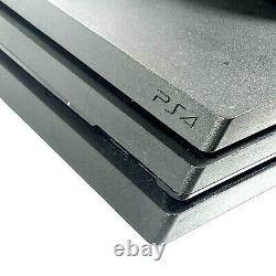 Sony Playstation Ps4 Pro 1 To + Contrôleur Jet Noir Good Condition Grade B
