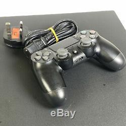 Sony Playstation Ps4 Pro 1to + Controller Jet Black Bon Etat Grade B