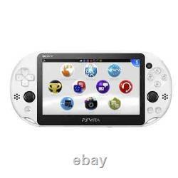 Sony Playstation Vita Wi-fi White Handheld System Très Bon État