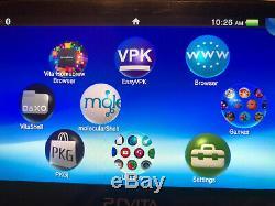 Sony Ps Vita Cfw 3.60 Henkaku Enso Oled De Sd2vita Très Bon État