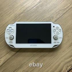Sony Ps Vita Pch-1001 Blanc Occasion En Bon État