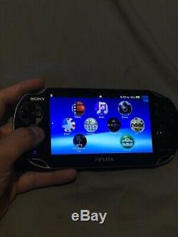 Sony Ps Vita Pch-1001 Cfw 3.60 Henkaku Enso Oled 128go Sd2vita Bon État