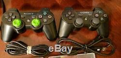 Sony Ps3 Super Slim 500gb Bundle Console (bon État Box Inclus)