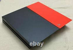 Sony Ps4 Playstation 4 500gb Noir/orange + 1 Jeu Fonctionne Parfait Bon État