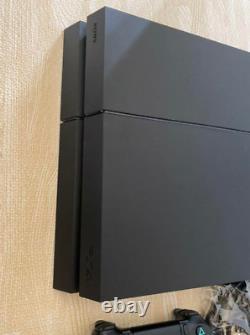 Sony Ps4 Playstation 4 Jet Black 500gb Cuh-1200a B01 Bon État Fedex F/s