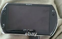 Sony Psp Aller Au Noir Bon État