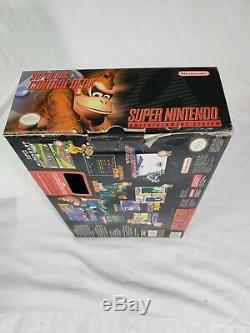 Super Nintendo Mini Modèle 2 Junior Complet En Boîte Bon Etat Cib