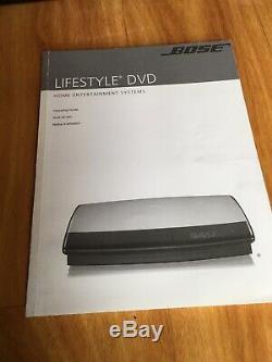 Système De Cinéma À Domicile À 5.1 Canaux Bose Lifestyle 38 En Bon État