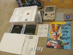 Système Gameboy Nintendo Original Complet En Box 1989 Bon Shape