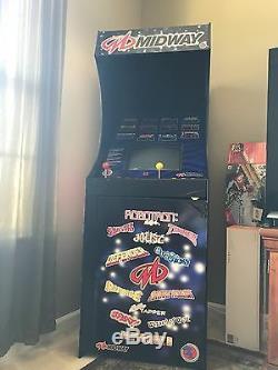 Système Midway 12 En 1 Arcade Bonne Condition! Fonctionne Très Bien! Série Classique 1