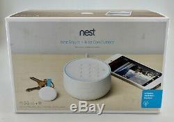 Système Nest Sécurisé Alarme Starter Pack & Outdoor Nest Cam In Box Blanc Bonne Forme
